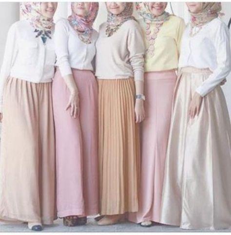 10 Trend Warna Pastel Pada Baju Muslim Terbaru