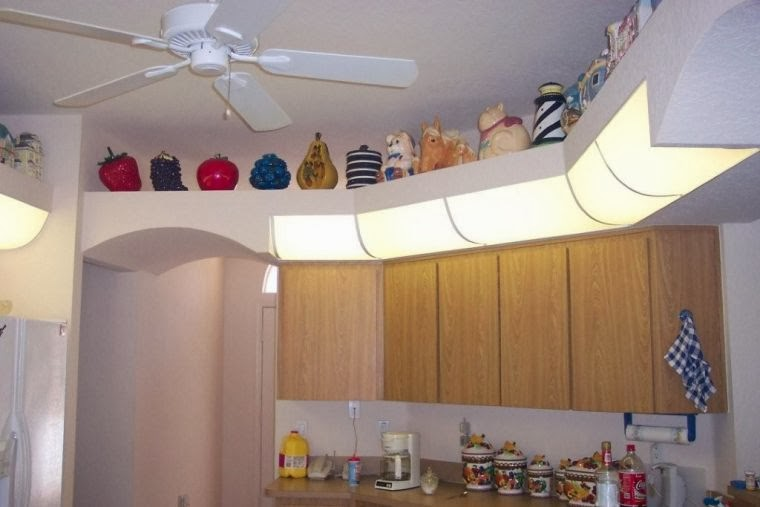 small kitchen ceiling design ideas