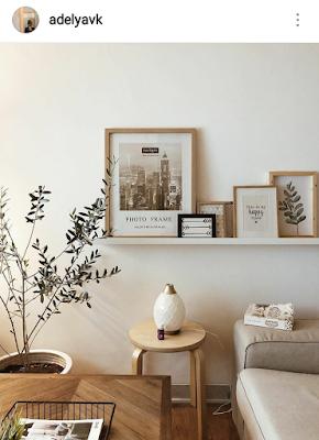 dekor rumah supaya tampak instagramable