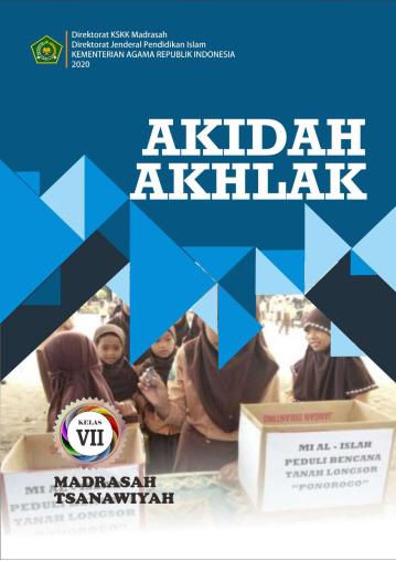 Buku Akidah Akhlak Kelas 7 8 9 SMP/MTs K-13 Revisi Tahun 2020