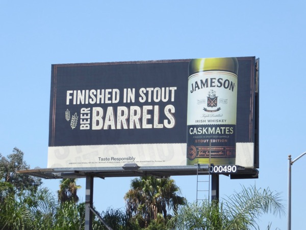 Jameson Irish Whiskey Caskmates billboard