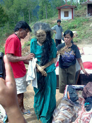 Walking Corpse in Toraja