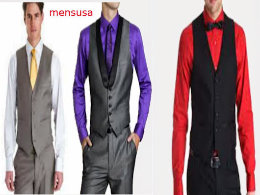 Tips on How to wear mensusa waistcoat
