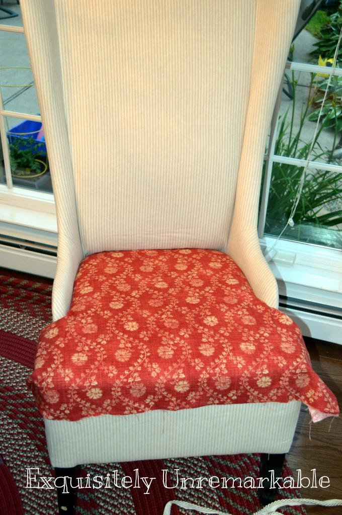 Trash To Treasure Upholstered Chair