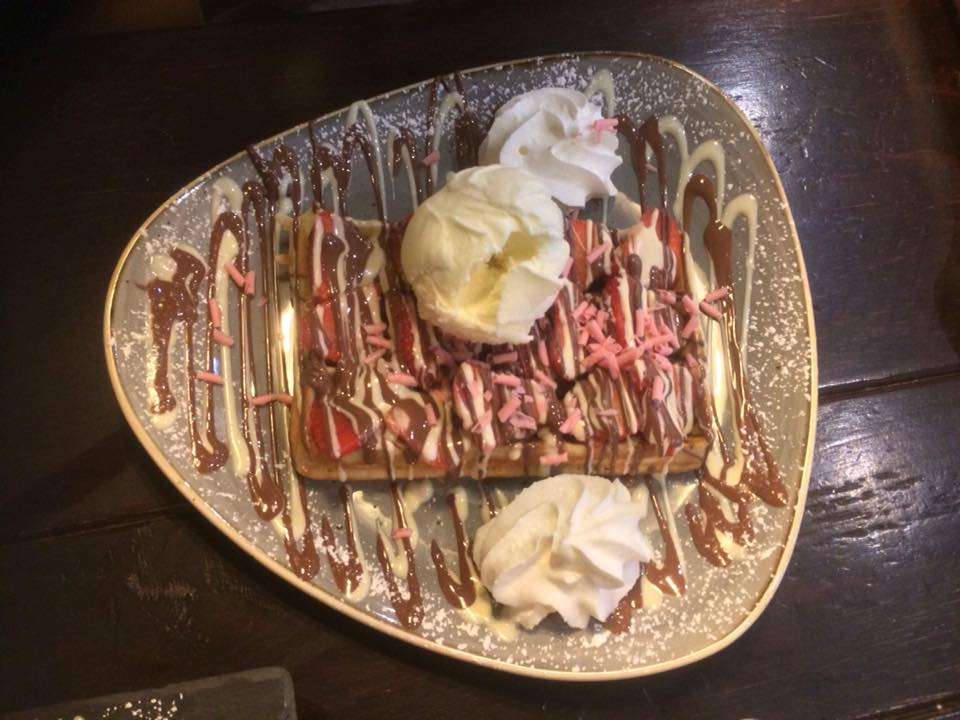 what the fudge desserts glasgow review