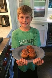 Mason's Apple Spice Muffins
