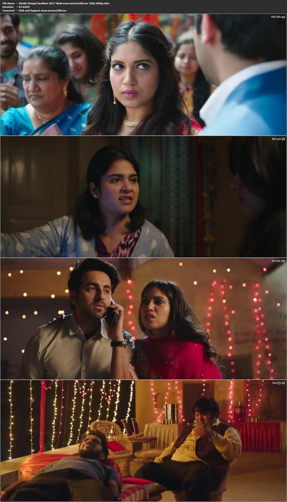 Shubh Mangal Saavdhan 2017 Hindi Movie Desi DVDRip 720p at movies500.me