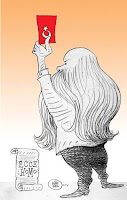 Marmaris'te yaşayan 68 yaşındaki çizgi-romancı karikatürcü Nuri Kurtcebe, Erdoğan hakkında, suç duyurusunda bulundu. Kurtcebe, tayyip'in, Türkiye Cumhuriyeti Anayasasının öngördüğü düzeni ortadan kaldırmaya veya bu düzen yerine başka bir düzen getirmeye teşebbüs ederek Türk Ceza Kanunu'nu ihlal ettiğini belirterek suç duyurusunda bulundu.