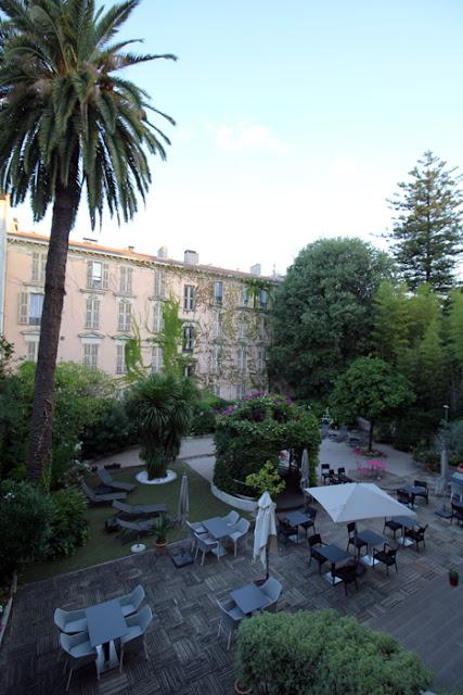 Hotel Villa Victoria - Innenhof