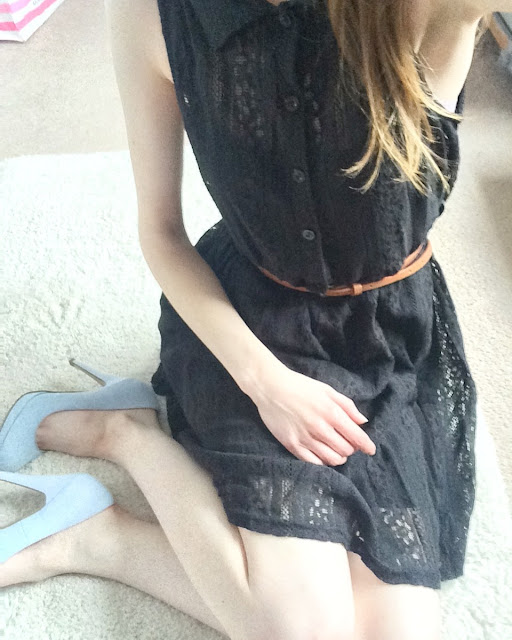 Lesara-Black-Lace-Dress-Review