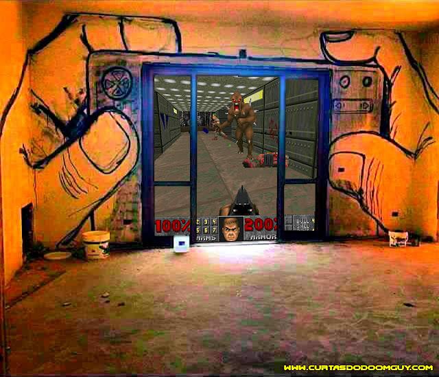 Rodando Doom na janela