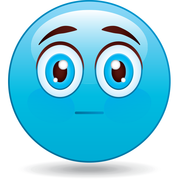 Blank Expression Emoji