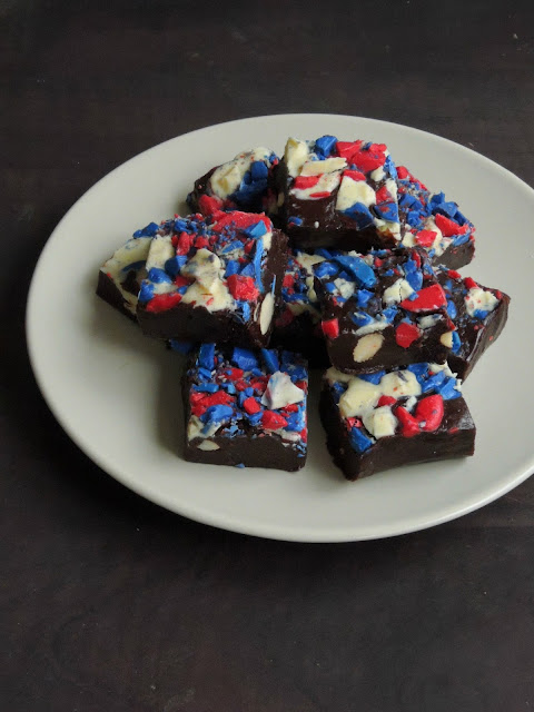 Almond fudge, Dark chocolate fudge