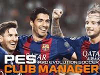 PES Club Manager Apk Data v.1.5.0 Terbaru