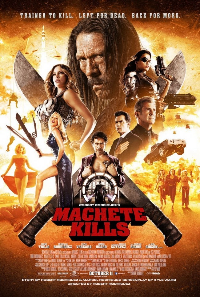 Machete Kills (2013) คนระห่ำ ดุกระฉูด [HD][พากย์ไทย]