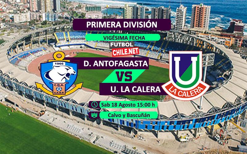 PREVIA: Deportes Antofagasta vs Unión La Calera