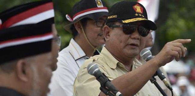 Ulang Tahun, Prabowo Tak Mau Dikirimi Ucapan Karangan Bunga