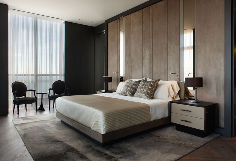 27 Modern Contemporary Masculine Bedroom Designs 2016