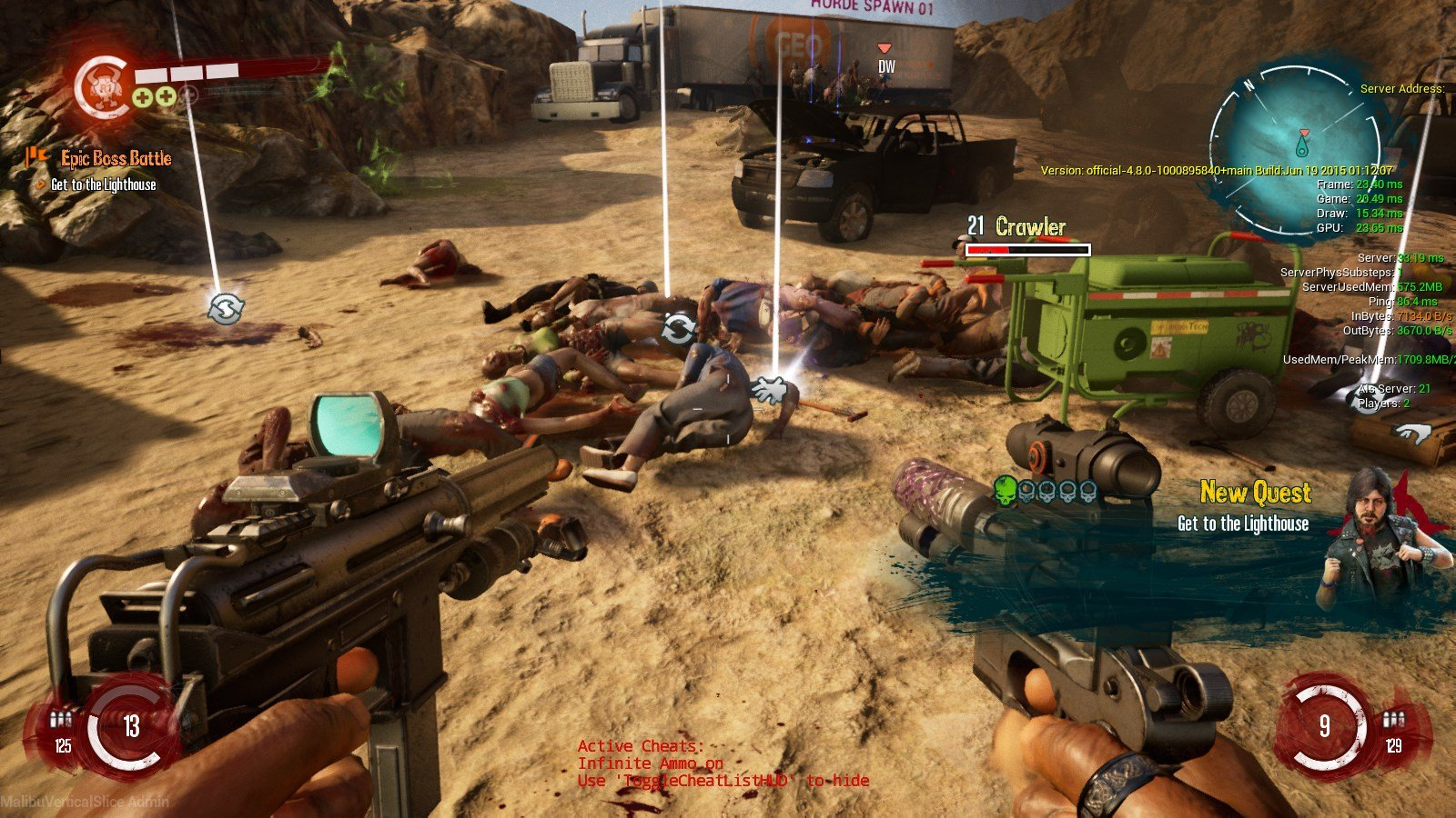 Κώδικας του Dead Island 2 κυκλοφόρησε online 1