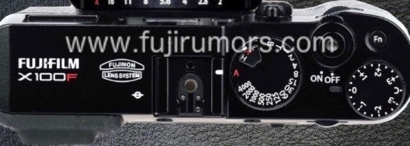 Fujifilm X100F, вид сверху