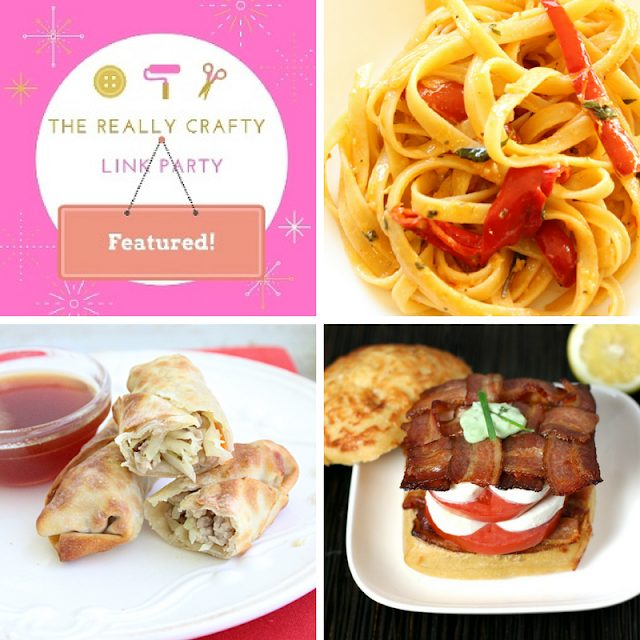 The Really Crafty Link Party #82 featured posts