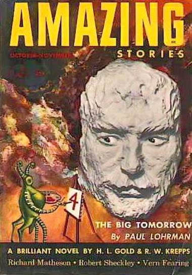 Amazing Stories Volume 21 Number 06: Sweet Freedom: FFB: GALAXY OF GHOULS (aka OFF THE BEATEN