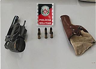 Operação policial apreende armas em Campina Grande, Gurinhém Esperança, Pilar e Frei Martinho