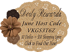 June Doily Rewards Host Code VKGS3T6Z