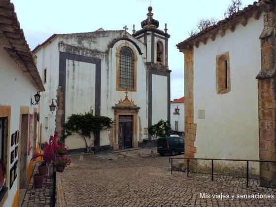 Iglesia de San Pedro, Óbidos, Portugal