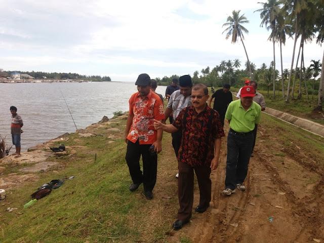 Andrinof Chaniago Ajak Ali Mukhni Bangun Kawasan Marina di Muaro Anai