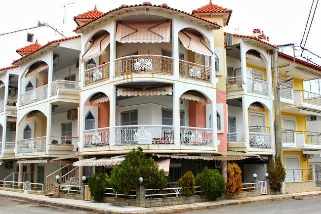 Nea Flogita houses