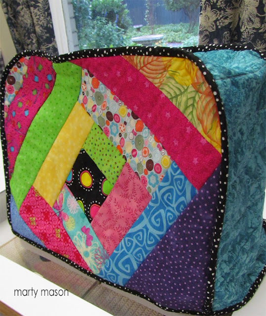 handmade sewing machine cover