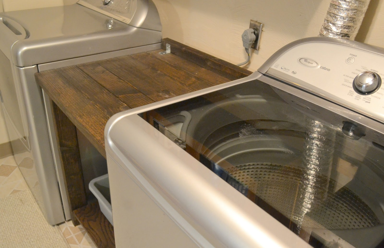 Top Laundry Room Makeover Part 5 More Counter E Logic Laughter Ec03