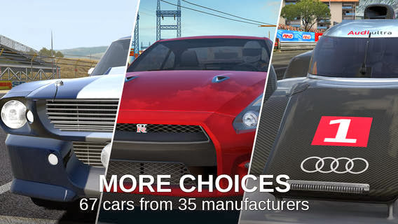 GT Racing 2 -Καταπληκτικό  Racing game για Android από την Gameloft.