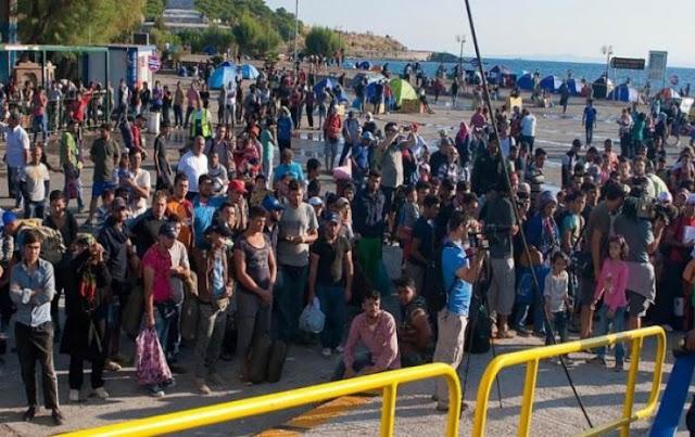 Εξεγέρθηκαν οι κάτοικοι της Χίου κατά μεταναστών και ΜΚΟ (ΒΙΝΤΕΟ)
