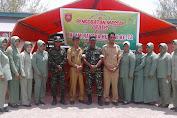 Memeriahkan HUT TNI Ke 72, Kodim 1415 Kep.Selayar Buka Pengobatan Massal dan Bazar Murah