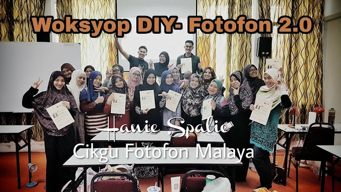 Worksyop Fotofon 2.0 For Business Bersama Cikgu Fotofon Malaya, Puan Hanie Spalie di Bandar Seri Putra, Bangi