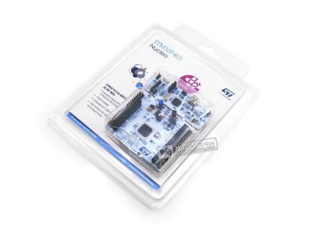 Arduino-er: NUCLEO-F401RE Nucleo STM32 Development Board STM32F401RE