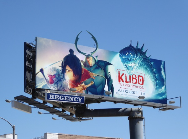 Kubo and the Two Strings extension billboard