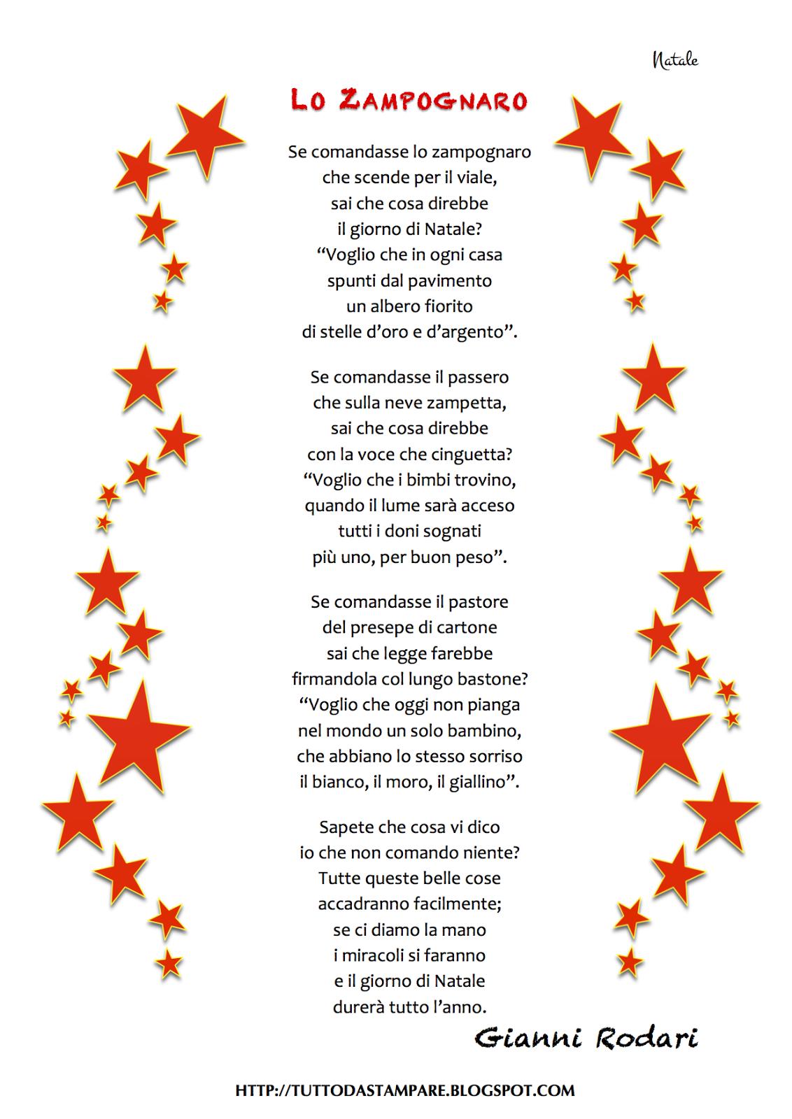 Frasi Di Natale Gianni Rodari.Poesie Sulla Famiglia Di Rodari