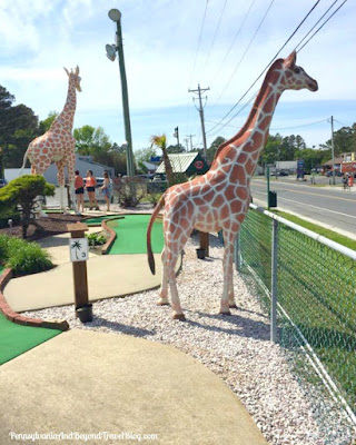 Funland Mini Golf and Amusements on Chincoteague Island
