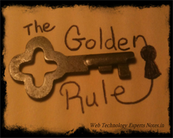 Golden Rules for successful project