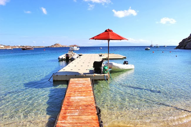 Nammos plaza na ostrvu Mikonos