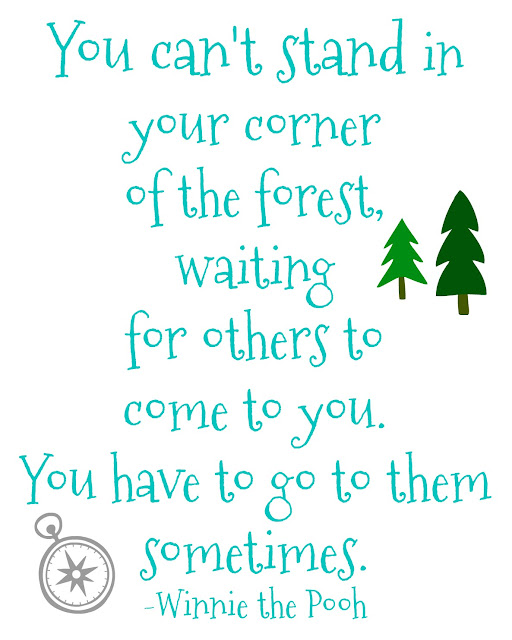winnie the pooh quote about building relationships