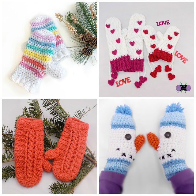 How to Add a Liner to your Crochet (or Knit) Mittens - Blackstone ...