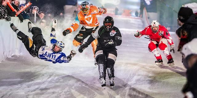 रेड बुल क्रैश आइस (Downhill Ice Cross)