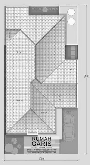 rencana atap arsitek dan interior di Makassar Gowa Takalar