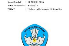 RPP Kelas 4 Semester 2 Kurikulum 2013 Revisi 2017 Lengkap