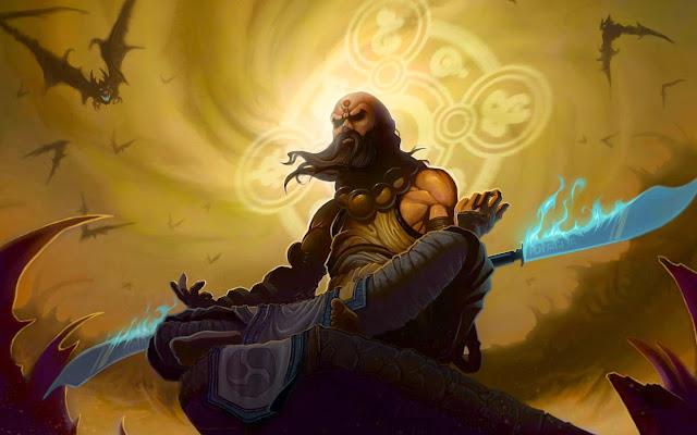 Papel de Parede do Jogo Diablo 3 Monge