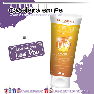 Protetor Capilar Solar - Lé Charme's (Low Poo)